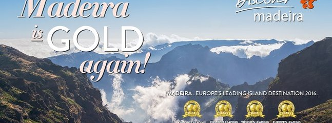 "For the third time, Madeira Islands were elected by the 'World Travel Awards"" organization as Europe"