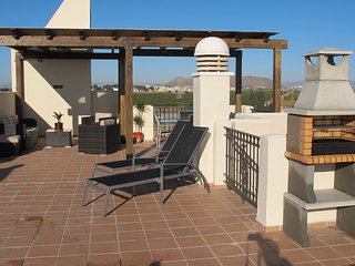 Roda Golf penthouse apartment near Los Alcazares