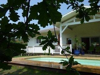 Belle villa avec piscine dans, Seignosse
