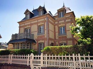 Luxury mansion near the casino, Deauville