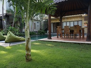 Wonderfull 4 bedrooms villa, new,  rice field wiew, Kerobokan