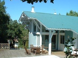 Villa d'architecte avec piscin, Seignosse