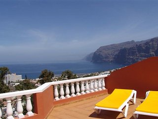 40m terrace with fantastic sea view in Los Gigantes
