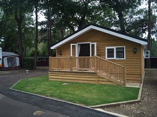 Luxury timber cabins for hire, Finchampstead