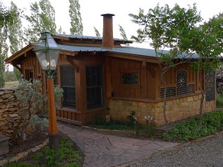 Strawbale Artists Cottage overlooking  Mesa Verde, Dolores