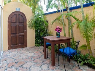 Modern, comfortable well appointed apartment with private courtyard.