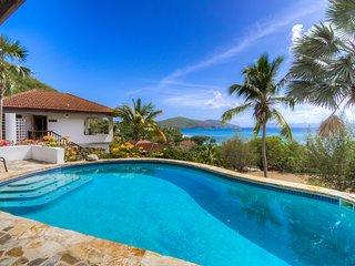 Virgin Gorda BVI villa 4 bdrm 4 bath with pool