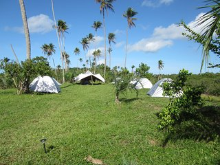 Camping at the riverside of the Rio Real ..unique!
