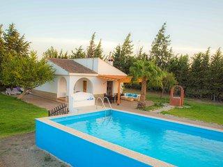 Villa La Barrosa - 6 pax - Piscina privada - Aire acondicionado - Parcela 2.000m