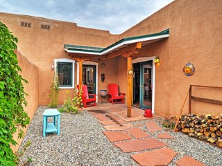 NEW! 2BR Taos Condo w/ Private Courtyard!