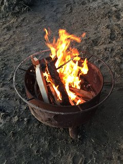 Outdoor Firepit for Amazing Campfires on the Beach