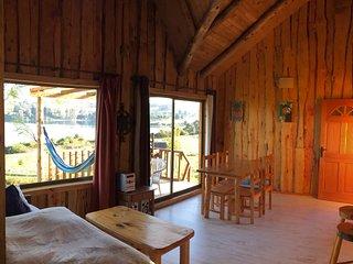 Antuquelen Lodge Cabañas, Cabaña para 2 a 4 personas con Playa