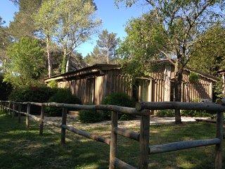 Cabane dans la nature calme, confort, parc naturel