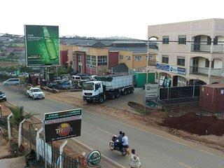 highway scenery, Kampala