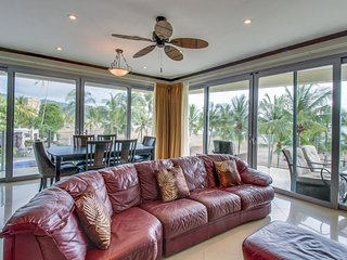Bright, spacious, and luxurious oceanfront jewel w/ balconies & shared pool