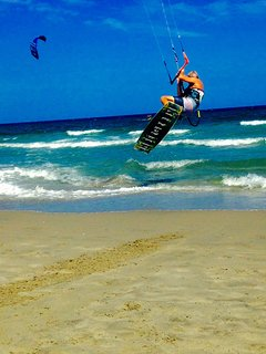 Local instructor available for lessons ; pei kiteboarding