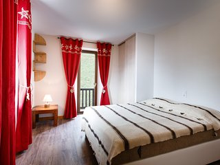 Mont Blanc Lodge - Chambre double / Double bedroom, Hauteluce