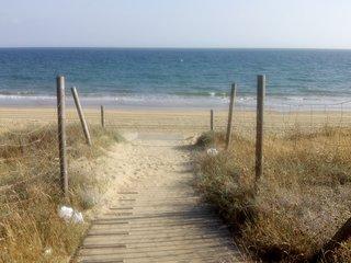 Casa en primera línea de playa, Mazagón