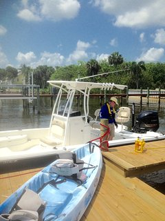 Additional boat dock allows guests to bring their own boat (storage of boat trailers is provided)