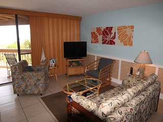 Hibiscus B203,Luxury 2 Bedroom-OceanFront Upgraded Condo, Extra Large Balcony, Saint Augustine