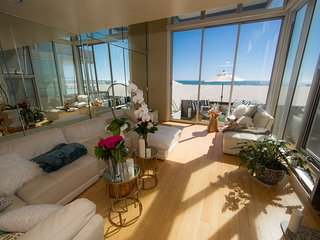 RELAXING BEACH HOUSE ON THE SANDS OF VENICE BEACH, Marina del Rey