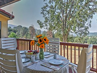 3BR Mariposa House on 70 acre Shooting Star Sanctuary! Near Yosemite Nat'l Park!