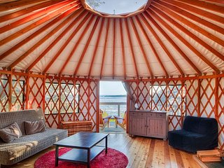 Hummingbird Yurt | WYA Point Resort, Ucluelet
