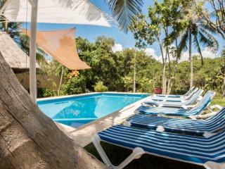 New!!! Ocean view 6 bedroom villa in Tankah near Tulum