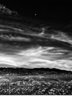 or a stroll in pinon scented hills  beneath a wide evening sky.
