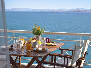 Waterfront Holiday Apartment,  Amazing Sea View, Kiveri village, Nafplion, Nauplia