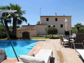 Wunderschöne Finca mit Pool, Pferden in Olivenhain, Castellet i la Gornal
