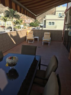 Lovely large terrace to enjoy outdoor living or simply sunbathing