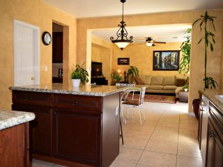 Kitchen to the living room