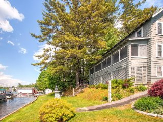 Large Winnipesaukee Waterfront House, Weirs Beach