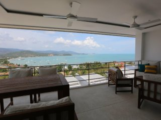 Koh Samui Luxury Sea View Infinty Pool Apartment '3J' 2 Beds - UniQue Residences