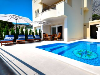 Seaview villa with pool for 8 persons, Makarska