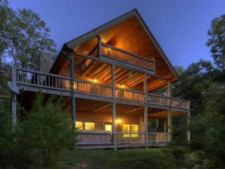 Pet Friendly Mountain Vacation Home In Blue Ridge, Ellijay