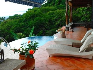 Casa Terraza Sea View with Breezes, Manuel Antonio National Park