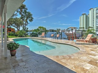 New Listing! Alluring 4BR St. Pete Beach House w/Wifi & Private Swimming Dock - Incredible Waterfront Location Near Popular Local Attractions! Brand New Private Pool!