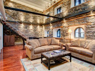 Old Montreal historic loft