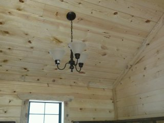 Custom Log Cabin for 2 on Wolfpen Gap ATV trail, Mena