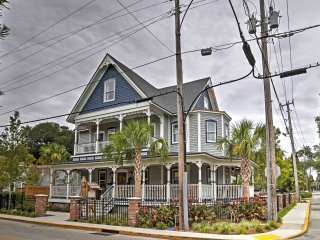 NEW! 'Jefferson House Suites' Historic 2BR St. Augustine Apartment!