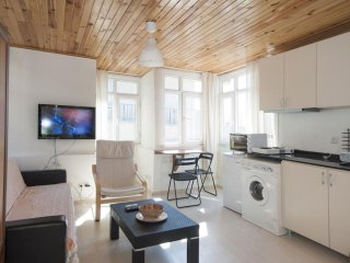 Penthouse Studio Troy apartment in Beyoğlu with WiFi & airconditioning., Istanbul