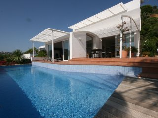 Villa Palmira in Port Andratx, Pool,  Meerblick, Port d'Andratx