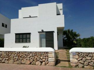 Sensacional villa en la playa con vistas al mar, Arenal d'en Castell