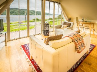 Rockpool House | Modern Apartment | On Loch Sunart shore | Spectacular views