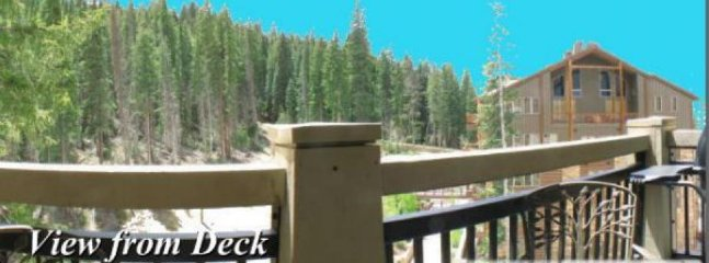 Private Balcony View - On the 4th floor, with views toward the slopes and a grill on the deck.