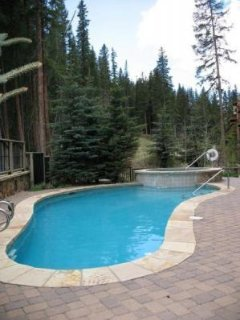 Pool and Hot Tub - The pool and hot tub are available for use year-round.