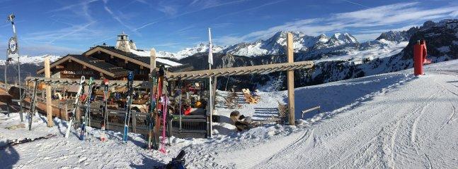 Cave De crux. 10 minutes ski away