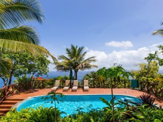 BANANA: ECO-LUX SEA VIEW COTTAGE, Marigot Bay